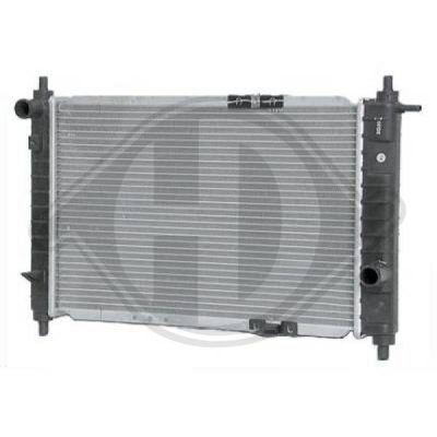 Radiateur, refroidissement du moteur - Diederichs Germany - 8693005