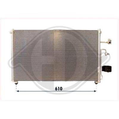 Condenseur, climatisation - Diederichs Germany - 8694100