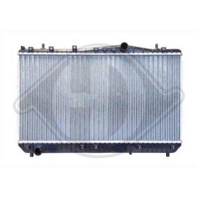 Radiateur, refroidissement du moteur - Diederichs Germany - 8695005