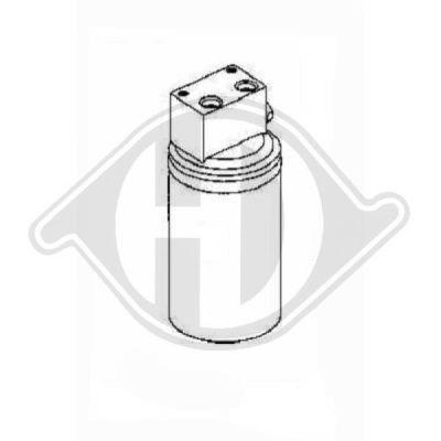 Filtre déshydratant, climatisation - Diederichs Germany - 8703002