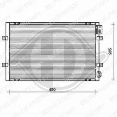 Condenseur, climatisation - Diederichs Germany - 8704001