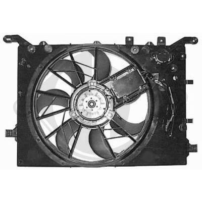 Ventilateur, refroidissement du moteur - Diederichs Germany - 8766004