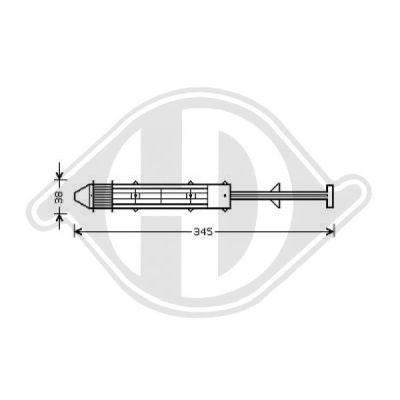 Filtre déshydratant, climatisation - Diederichs Germany - 8780501