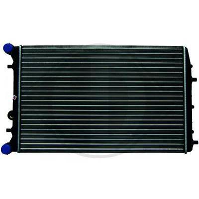 Radiateur, refroidissement du moteur - HDK-Germany - 77HDK8780506