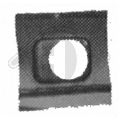 Panneau latéral - Diederichs Germany - 9450061