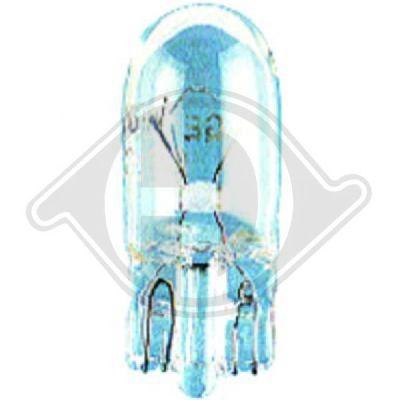 Ampoule, feu éclaireur de plaque - HDK-Germany - 77HDK9500083