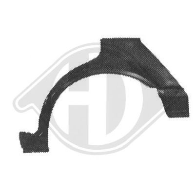Panneau latéral - Diederichs Germany - 9641132