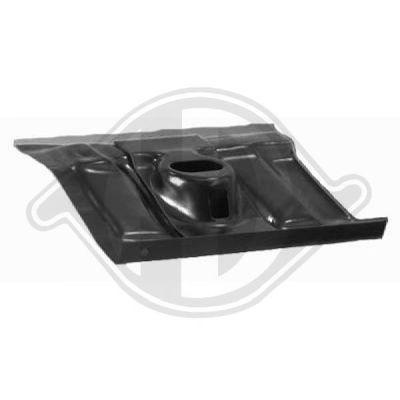 Plancher de carrosserie - Diederichs Germany - 9744051