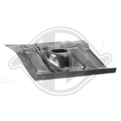 Plancher de carrosserie - Diederichs Germany - 9744052