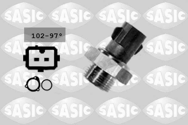 Pompe à eau + kit de courroie de distribution - SASIC - 3904031