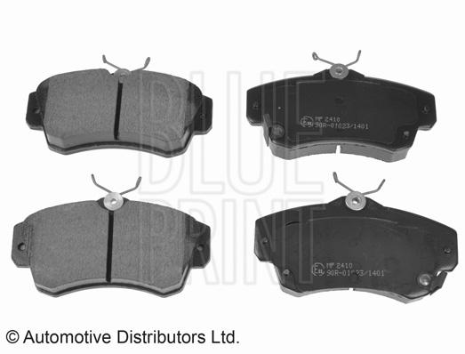Kit de plaquettes de frein, frein à disque - BLUE PRINT - ADA104201