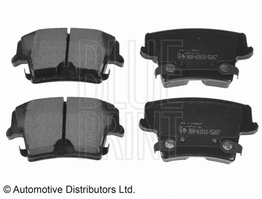 Kit de plaquettes de frein, frein à disque - BLUE PRINT - ADA104205