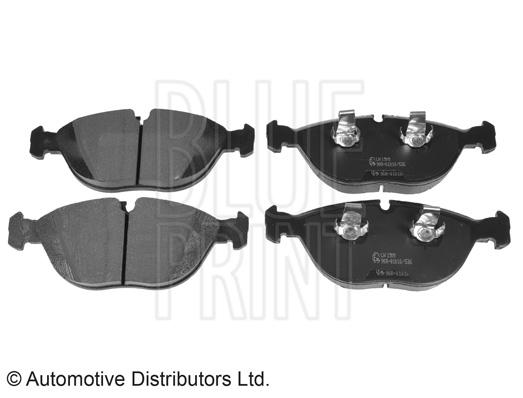 Kit de plaquettes de frein, frein à disque - BLUE PRINT - ADA104231