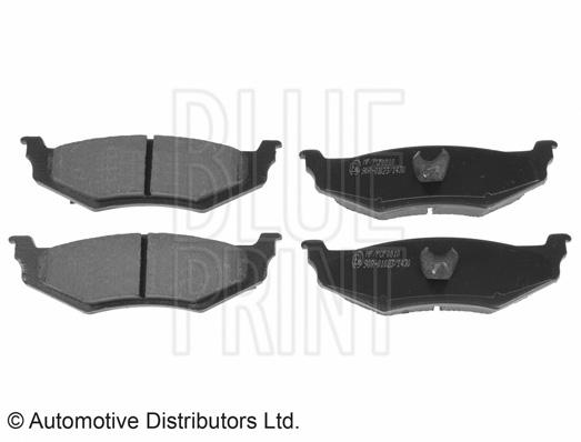 Kit de plaquettes de frein, frein à disque - BLUE PRINT - ADA104236