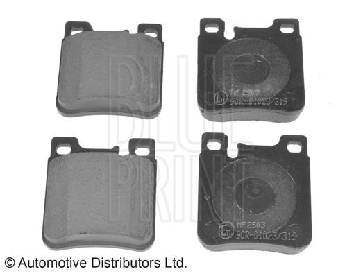 Kit de plaquettes de frein, frein à disque - BLUE PRINT - ADA104239