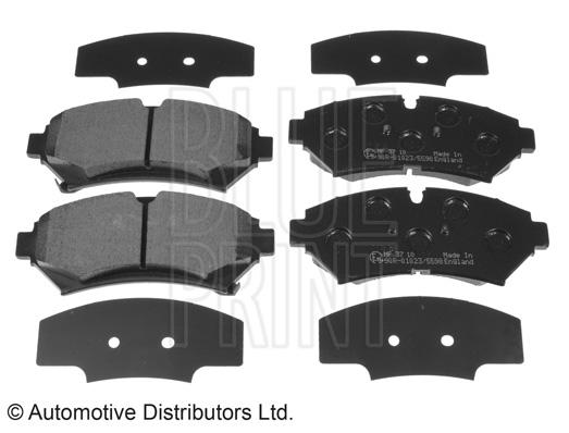 Kit de plaquettes de frein, frein à disque - BLUE PRINT - ADA104243