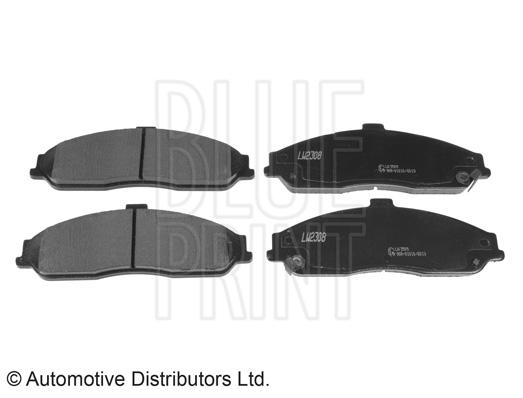 Kit de plaquettes de frein, frein à disque - BLUE PRINT - ADA104245