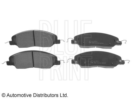 Kit de plaquettes de frein, frein à disque - BLUE PRINT - ADA104256