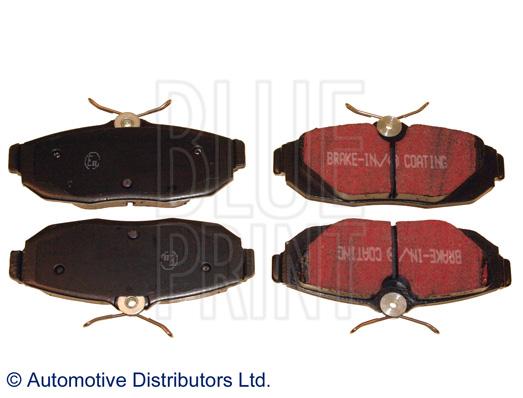 Kit de plaquettes de frein, frein à disque - BLUE PRINT - ADA104257