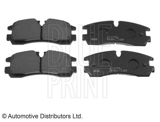 Kit de plaquettes de frein, frein à disque - BLUE PRINT - ADA104258