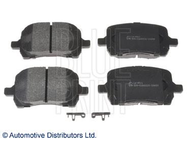 Kit de plaquettes de frein, frein à disque - BLUE PRINT - ADA104264