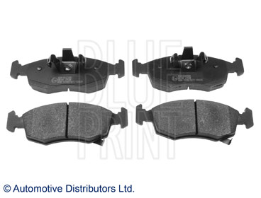 Kit de plaquettes de frein, frein à disque - BLUE PRINT - ADA104266