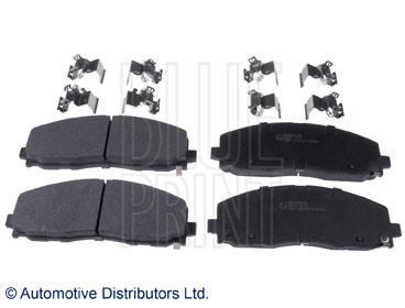 Kit de plaquettes de frein, frein à disque - BLUE PRINT - ADA104268