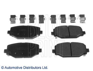 Kit de plaquettes de frein, frein à disque - BLUE PRINT - ADA104271