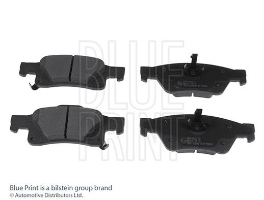 Kit de plaquettes de frein, frein à disque - BLUE PRINT - ADA104272