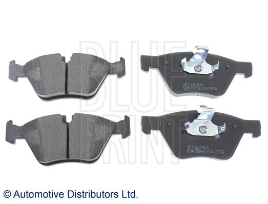 Kit de plaquettes de frein, frein à disque - BLUE PRINT - ADB114205