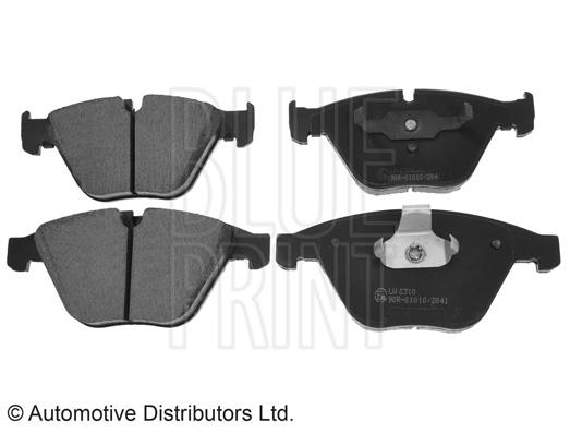 Kit de plaquettes de frein, frein à disque - BLUE PRINT - ADB114207