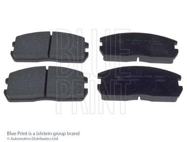 Kit de plaquettes de frein, frein à disque - BLUE PRINT - ADC44212