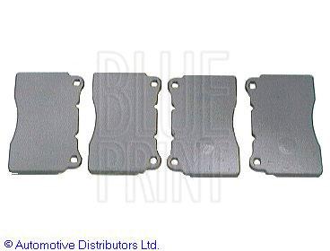 Kit de plaquettes de frein, frein à disque - BLUE PRINT - ADC44238P