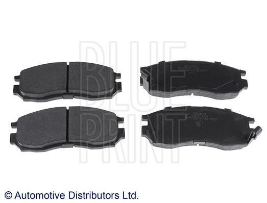 Kit de plaquettes de frein, frein à disque - BLUE PRINT - ADC44242