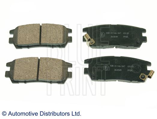 Kit de plaquettes de frein, frein à disque - BLUE PRINT - ADC44243