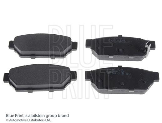 Kit de plaquettes de frein, frein à disque - BLUE PRINT - ADC44244