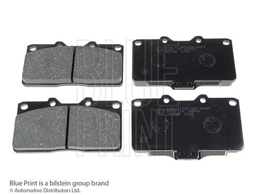 Kit de plaquettes de frein, frein à disque - BLUE PRINT - ADC44247