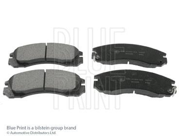 Kit de plaquettes de frein, frein à disque - BLUE PRINT - ADC44250