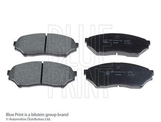 Kit de plaquettes de frein, frein à disque - BLUE PRINT - ADC44254