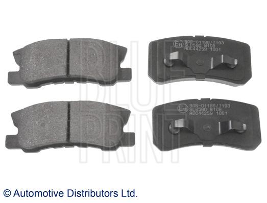 Kit de plaquettes de frein, frein à disque - BLUE PRINT - ADC44259
