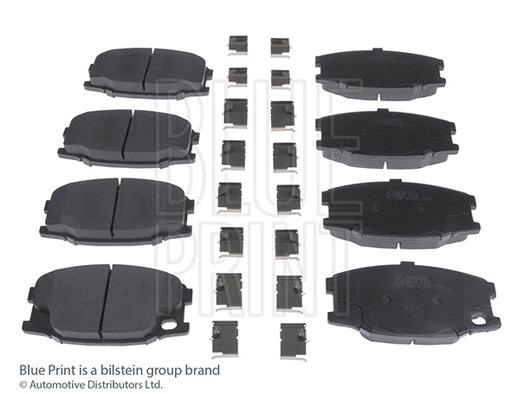 Kit de plaquettes de frein, frein à disque - BLUE PRINT - ADC44262