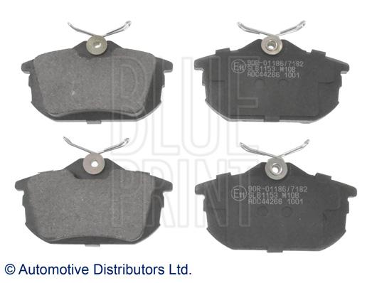 Kit de plaquettes de frein, frein à disque - BLUE PRINT - ADC44266