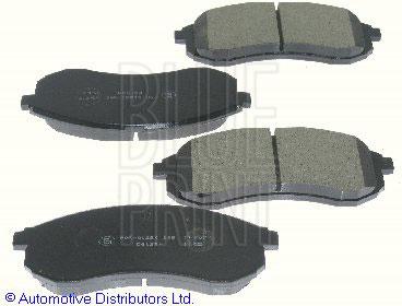 Kit de plaquettes de frein, frein à disque - BLUE PRINT - ADC44268