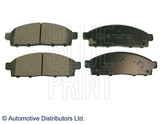 Kit de plaquettes de frein, frein à disque - BLUE PRINT - ADC44272