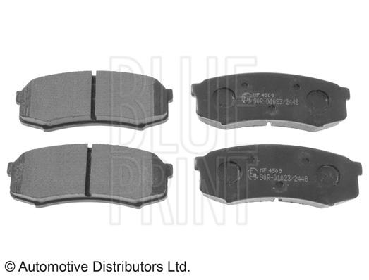 Kit de plaquettes de frein, frein à disque - BLUE PRINT - ADC44275