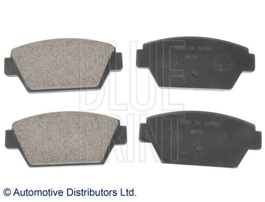 Kit de plaquettes de frein, frein à disque - BLUE PRINT - ADC44277