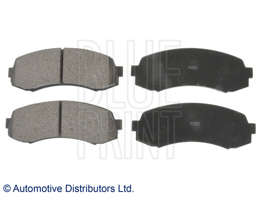 Kit de plaquettes de frein, frein à disque - BLUE PRINT - ADC44278