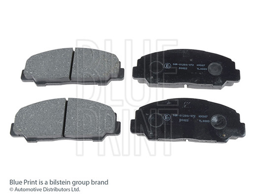 Kit de plaquettes de frein, frein à disque - BLUE PRINT - ADD64219