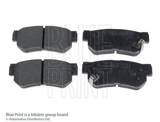 Kit de plaquettes de frein, frein à disque - BLUE PRINT - ADD64221
