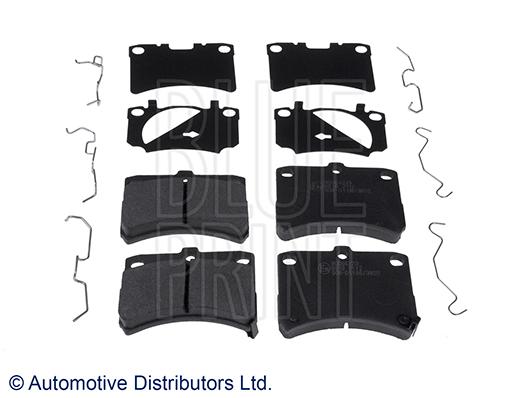 Kit de plaquettes de frein, frein à disque - BLUE PRINT - ADD64223